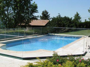 Cerramiento piscina ARIANE Vega Aluminios